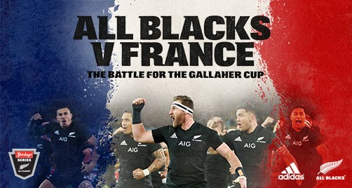 Accommodation for All Blacks vs France test match Dunedin