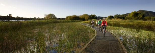 Cycling Holidays New Zealand Rotorua Accommodation, Home hosted accommodation,